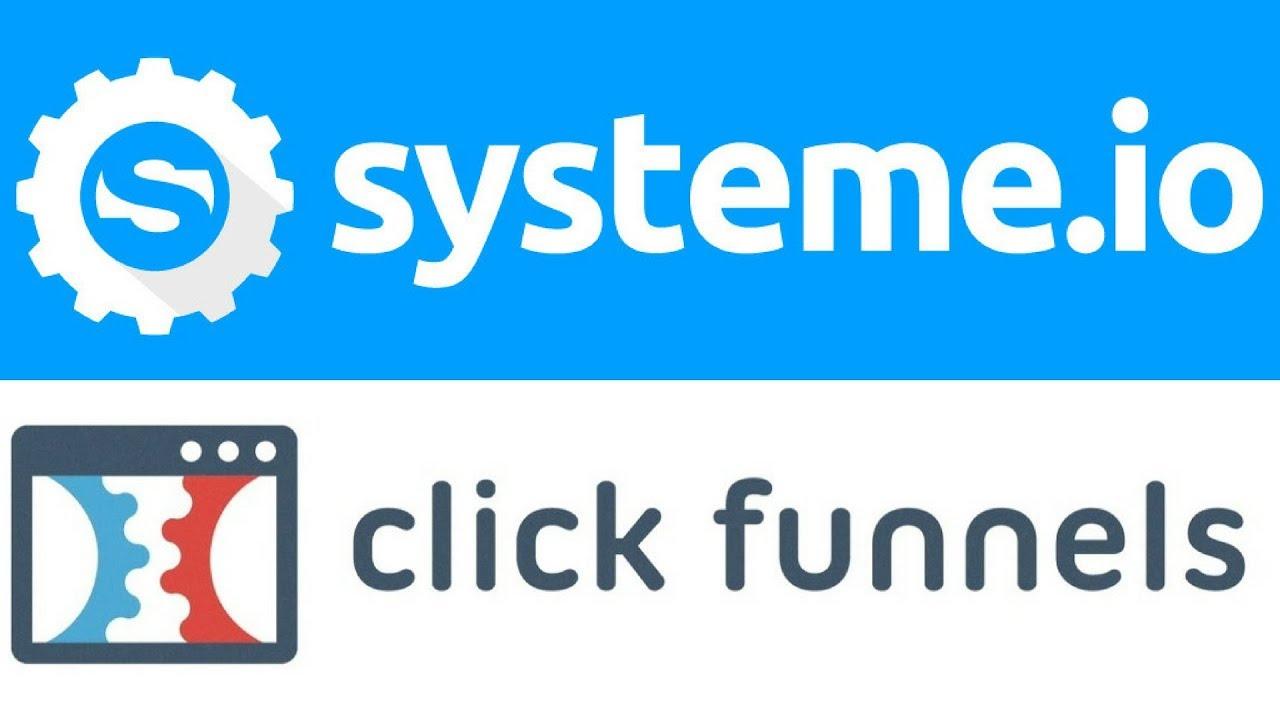 clickfunnels et systemeio