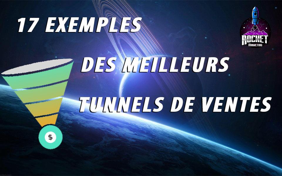 17 exemples des meilleures tunnels de ventes
