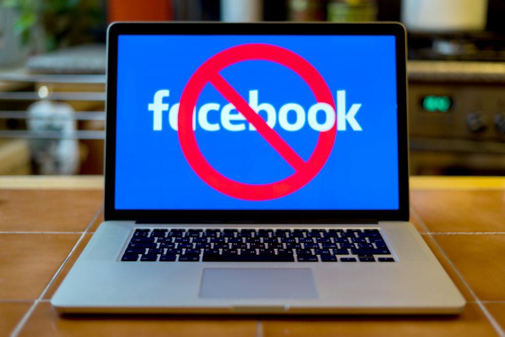 compte pub facebook bloqué