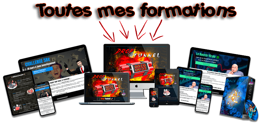 toutes mes formations rocket marketing